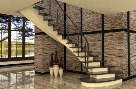 Betoninia laiptai